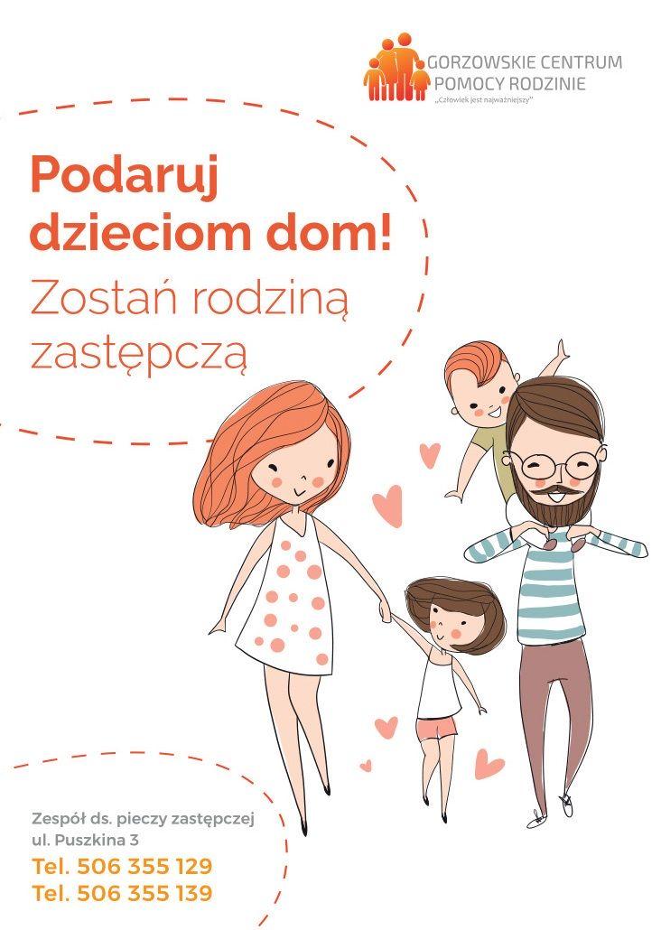 plakat podaruj dzieciom dom
