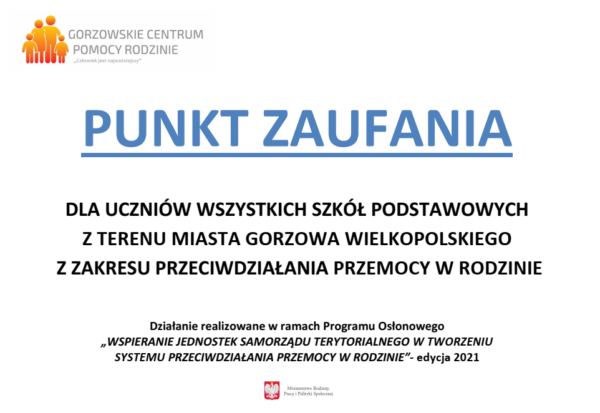 Read more about the article PUNKT ZAUFANIA